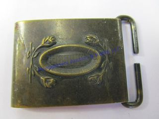BRASS FINISH CHIlD S BUCKlE