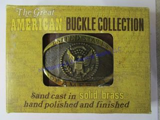 GREAT AMERICAN BUCKlE