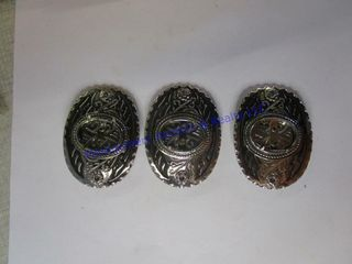 3 YOUTH BUCKlES