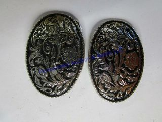 2 YOUTH SIlVER BUCKlE