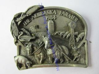 NEBRASKA FARMER BUCKlE
