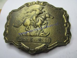 PONY EXPRESS BUCKlE