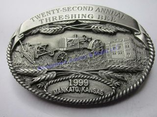 MANKATO THRESHING PROOF BUCKlE