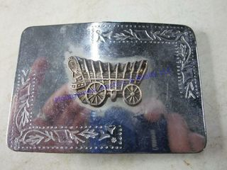 COVERED WAGON BUCKlE
