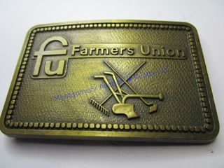 FARMERS UNION BUCKlE