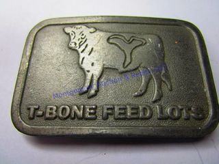 T BONE FEEDlOT BUCKlE