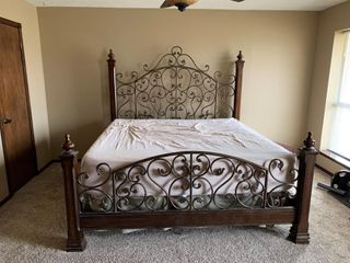 King Size Headboard   Footboard