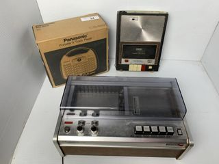 Cassematic Player  Cassette Player    Panasonic