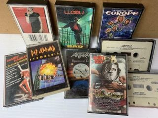 Box of Assorted Cassettes