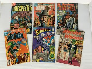 6   DC Comic Books  Superman  Wonder Woman