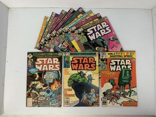 11   Marvel Star Wars Comic Books