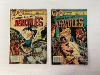 2   Charlton Classics Hercules Comic Books
