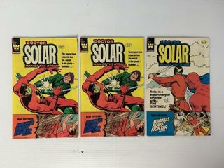 3   Doctor Solar Comic Books
