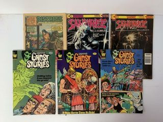 6   Asst  Whitman Comic Books