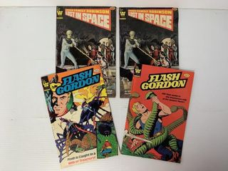4   Whitman Flash Gordon   Space Family Robinson