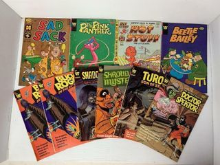 10   Asst  Whitman Comic Books
