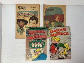 2   Dennis the Menace Comic Books and