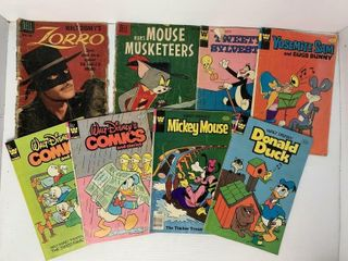 8   Asst  Comic Books   Walt Disney  MGM
