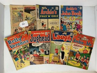 8   Archie Series Comic Books