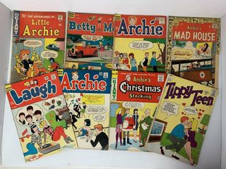 7   Archie Series Comic Books   1   Tippy Teen