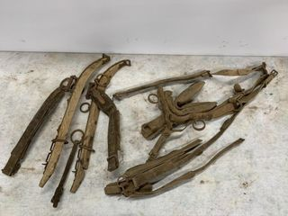 Vintage Hames and leather Harness Accessories