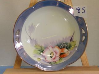 Hand painted Meito China bowl