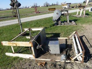 Homebuilt Parts Washer Bench