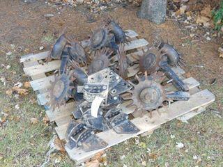 6 Trash Wheel Units for Corn Planter