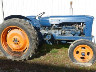 1949 Fordson Major Gas Tractor