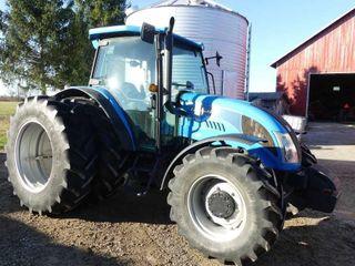 2010 landini 5 110H MFWD Tractor  770hrs