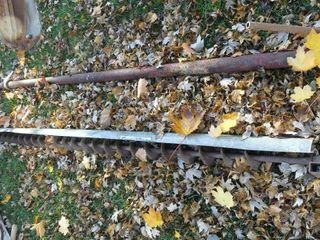 Bin Sweep Auger and PTO Shaft