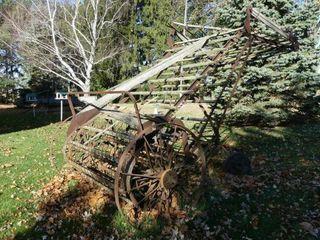 McCormick Deering Hay loader