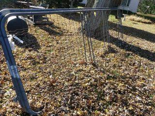 16ft Steel Frame w Wire Insert Gate