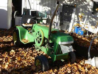 Custom John Deere Tractor w 1 1 2hp Fairbanks Moto