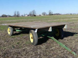 John Deere Flat Rack Wagon