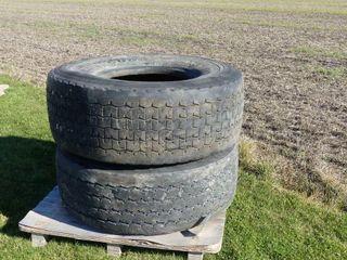 Pair of 445 65R22 5 Tires
