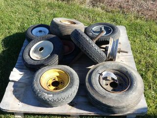 lot of Misc  Utility Tires