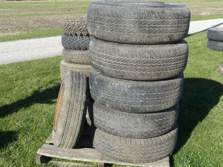 Skid of Misc  Tires