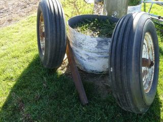 Pair of Guage Wheels for Chisel Plow
