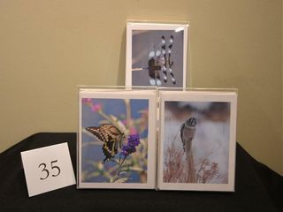 Three Sets of Nature Photography Gift Cards