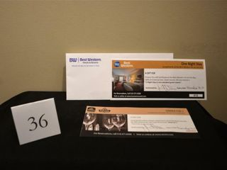 Best Western One Night Stay and Dinner Pkg