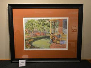 A Sense of Pride  Framed Print