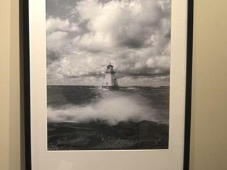 Southampton light House Framed Print