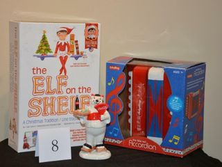 Elf on the Shelf and Toy Accordian Pkg