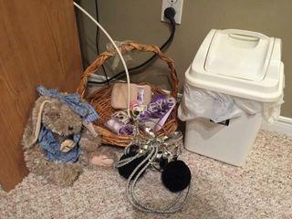 Trash Bin  Basket  Bells  Etc