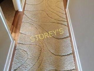 Swirl Hallway Runner   32 x 8