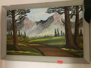 Framed Painting   46 x 29