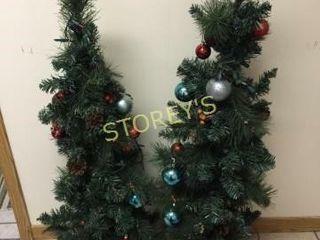 Pair of Christmas Trees  45