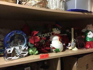 Christmas Shelf  Figurines  Decor