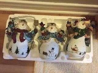 3 Decorative Snowman